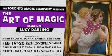 The Art of Magic with headliner Lucy Darling tickets