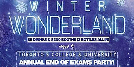 Winter Wonderland | End of Exams @ Fiction // Fri Dec 13 | Ladies FREE Before 11PM, $5 Drinks & 1000+ People! tickets