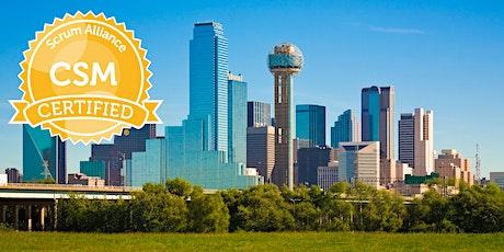Certified ScrumMaster® Class - Dallas / Plano / Frisco tickets