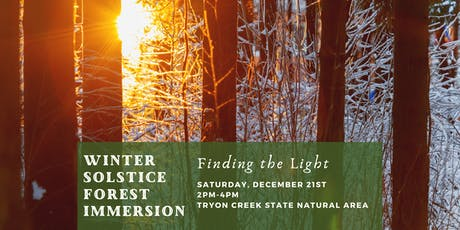 Winter Solstice Forest Immersion tickets