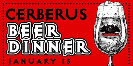 Cerberus Beer Dinner tickets