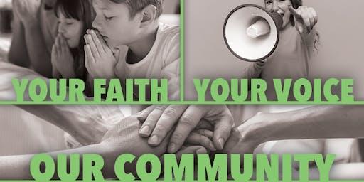 Your Faith, Your Voice, Our Community