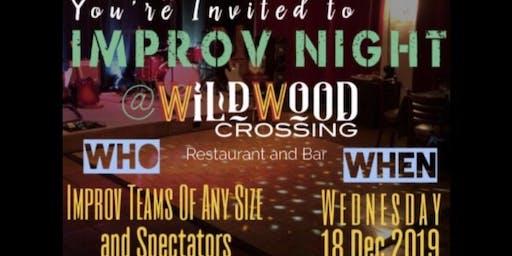 Improv Night at Wildwood Crossing