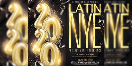 Latin NYE 2020 - The Ultimate Experience