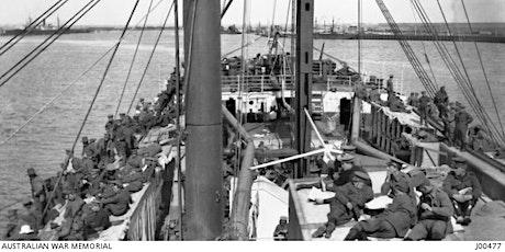 WWI - Troops Depart for War tickets