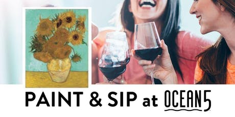 Ocean5 Paint and Sip Night tickets