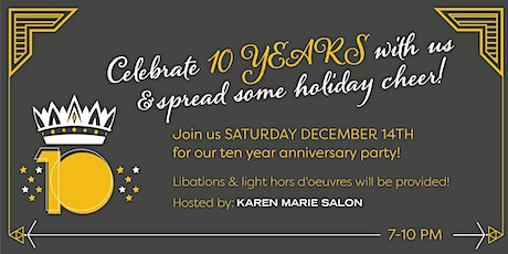 10 YEAR ANNIVERSARY PARTY tickets
