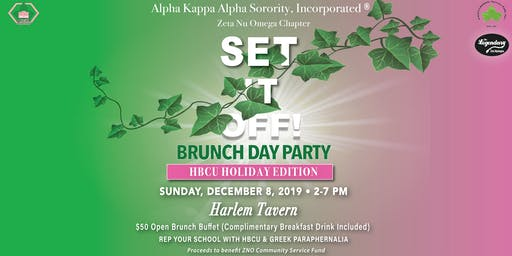 Set it Off: HBCU Holiday Brunch Day Party