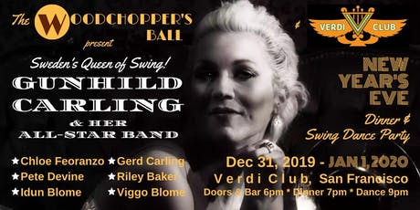 NYE Dinner & Swing Dance Party with Gunhild Carling! tickets