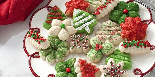 "Making Holiday Spritz Cookies with UW Extension's "" Learn with Us program"""