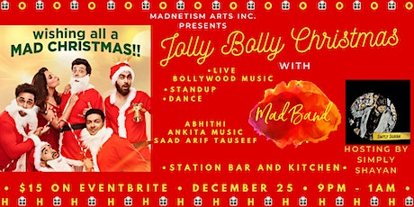 Jolly Bolly Christmas with The Mad Band tickets