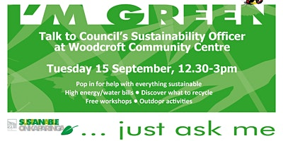 Your Sustainability Questions Answered - Woodcroft Library