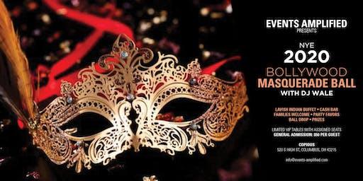 New Year's Eve 2020 Bollywood Masquerade Ball