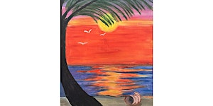 Maui Wowie Paint and Sip Night- Wine, Beer Included