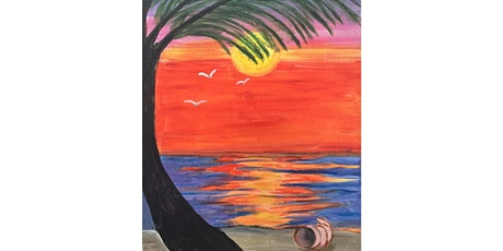 Maui Wowie Paint and Sip Night- Wine, Beer Included tickets