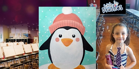 Cozy Penguin - Little Brushes Family Friendly Ages 6+ Welcome tickets