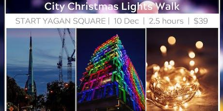 Perth City Lights Walk tickets