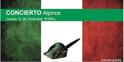 Concierto Alpinos de La Plata