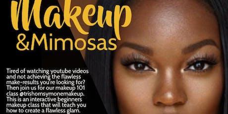 Makeup & Mimosas tickets