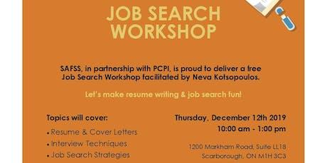 Job Search Workshop tickets