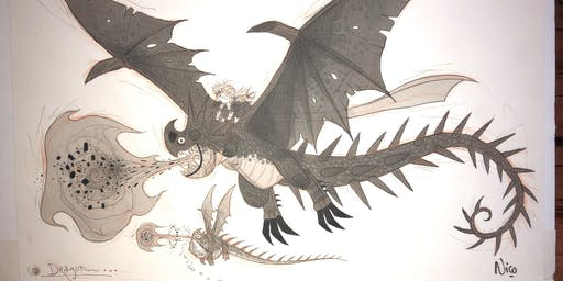 How To Train Your Dragon Raffle