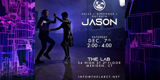 Jason Ramos at The LAB - Intro to Salsa, Bachata and Merengue
