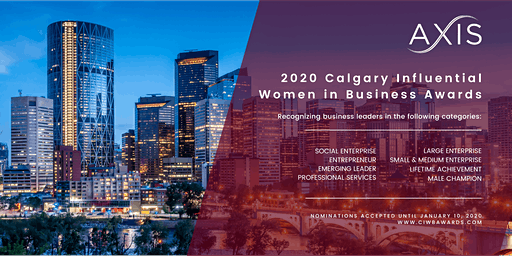 Calgary Influential Women in Business Awards
