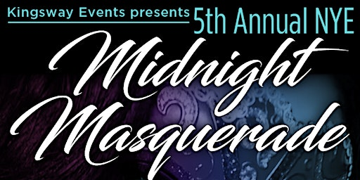NYE Midnight Masquerade Bash!