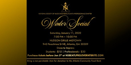 2020 Winter Social and Food Drive tickets