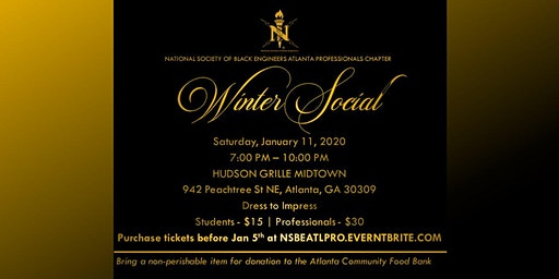2020 Winter Social and Food Drive