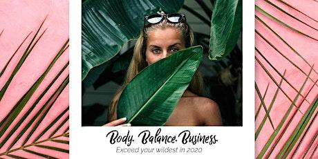 Body Balance Business 2020 tickets