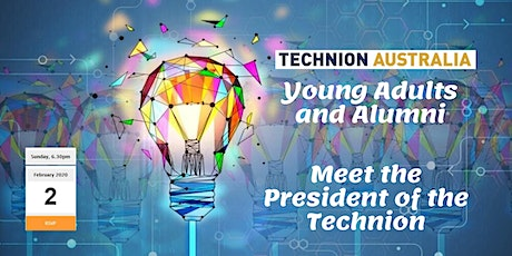 Exclusive! Young adults and Alumni networking with the President of the Technion tickets
