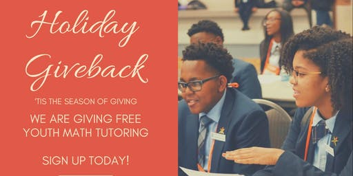 Math 4 Success Holiday Giveback - FREE Math Tutoring for Students