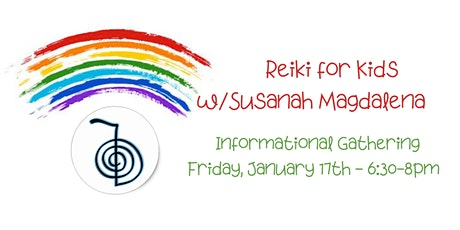 Reiki for Kids - Informational (Parents ONLY) tickets