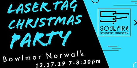 SoulFire Laser Tag Christmas Party tickets
