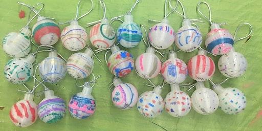 Beginning 3D Design:  Design your own spherical ornament!