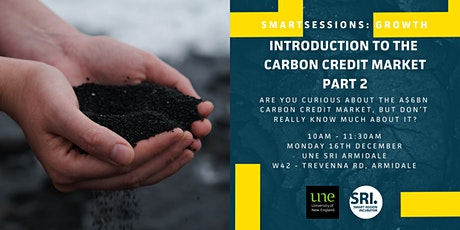 SMARTSessions: Carbon Credit Market Part 2 – Armidale tickets