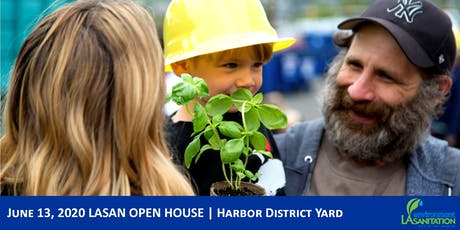 6/13/20 LASAN Open House - Harbor tickets