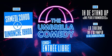 The Umbrella Comedy billets