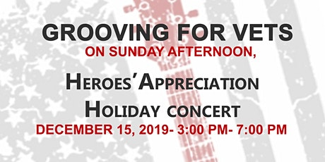 Grooving For Vets on a Sunday Afternoon tickets