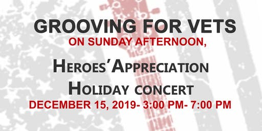 Grooving For Vets on a Sunday Afternoon