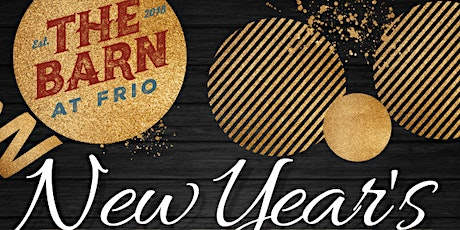 New Year's Eve at The Barn! tickets
