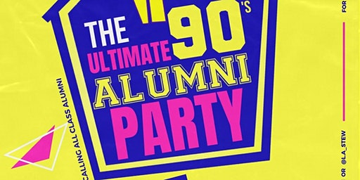 The Ultimate 90's Alumni Party Hosted by Damon Stringer