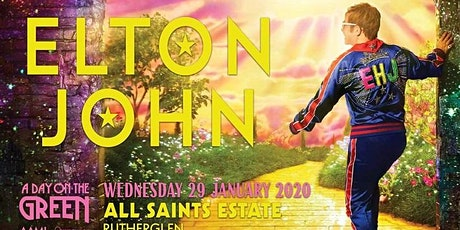 Tuileries Brunch celebrating Elton John in Rutherglen - January 2020 tickets
