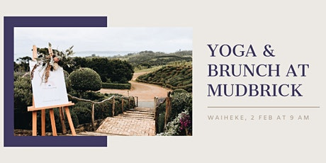 Yoga & Brunch at Mudbrick Vol 2 tickets