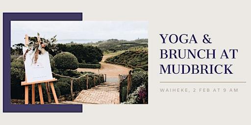 Yoga & Brunch at Mudbrick Vol 2