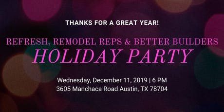 Manchaca Holiday Party tickets