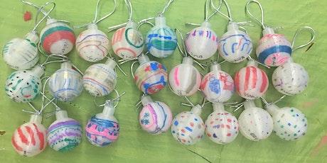Beginning 3D Design:  Design your own spherical ornament! tickets