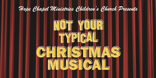 Hope Chapel Ministries  Children's Church Christmas Presentation