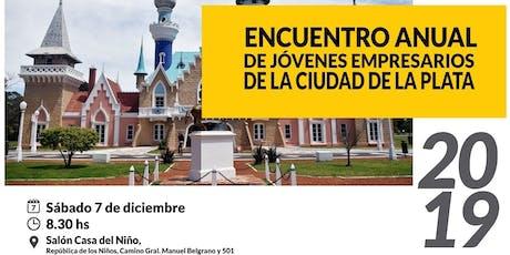 Prensa Encuentro Jóvenes Empresarios 2019  entradas
